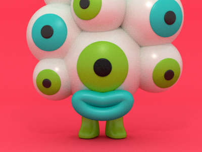 Argus toy 3d character design