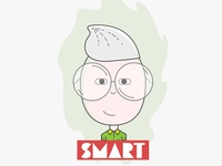 Smart @office sketch cartoon expressions line rule illustration