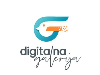 logo Digitalna galerija1 gallery logo digitalart bird digital