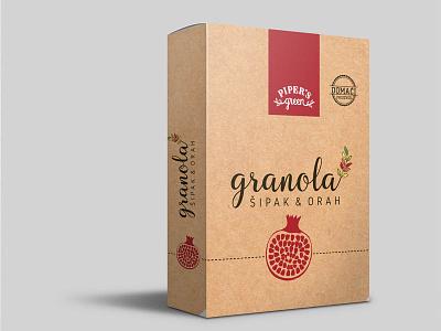 Granola2 packaging design granola logo packaging