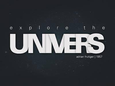 Univers frutiger univers wallpaper typography design typeface