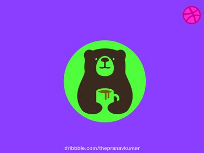 Coffee Bear Logo
