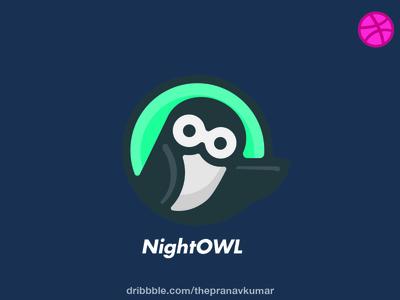 Nightowl Logo design