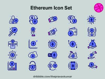 Ethereum Icon Set