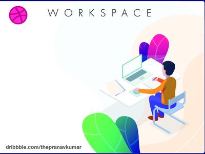 Workspace illustration