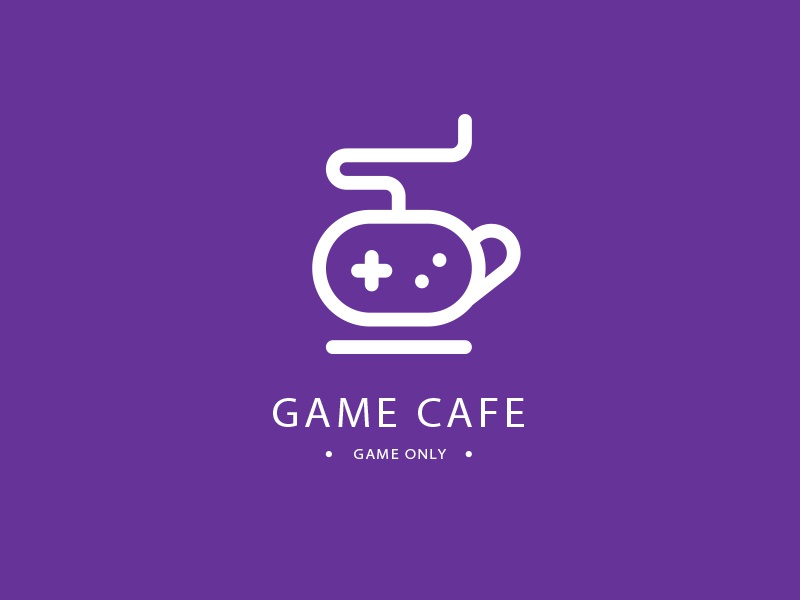 Game Cafe Logo branding logo