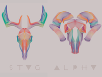 STAG ALPHA illustration
