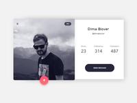 Day 006 - User profile #dailyui