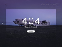 Day 008 - 404 page #dailyui