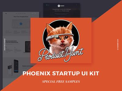 Phoenix Startup UI Kit on Product Hunt