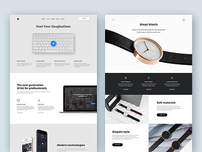 Phoenix Startup UI Kit Freebie web psd free download slider ui kit freebie flat inspiration clean ux ui design dailyui