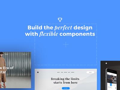 Presentation Thumbnails Design dailyui ui design ux clean flat inspiration freebie ui kit slider free download psd web