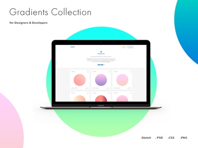 Web Gradients - Most Huge Collection of Free Gradients minimal gradient sketch web psd free download ui kit freebie flat inspiration clean ux ui design