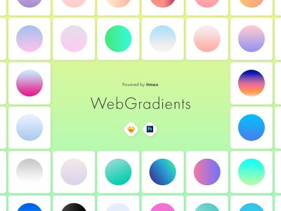 Web Gradients - Ultimate Collection of Gradients 🔥 ui kit animation web sketch psd download free freebie inspiration gradients
