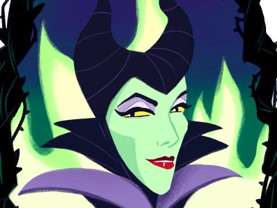 Maleficent illustration maleficent disney
