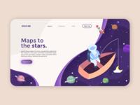 Spaceme - Landing page