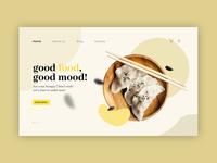 Foodzone - Landing page