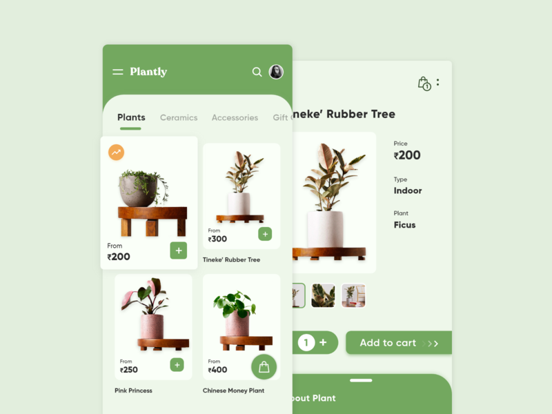 Plantly Mobile App