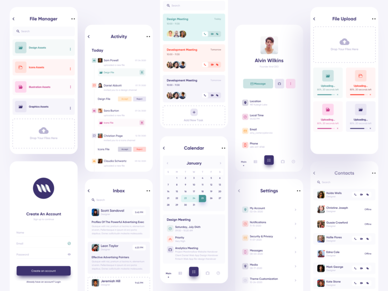 Task Planner App task management collaboration app dashboard agenda ueno todo app to do task simple app my task minimal app design job daily task clean app design app ui app concept to do list to do app calendar app