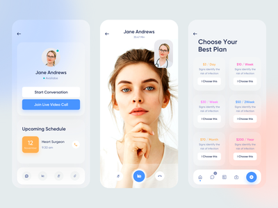 Medical Mobile App product design mobile application mobile app design mobile app mobile design mobile ui medical app medical care medicine app medicine health health care health app doctor app doctor appointment patient app patient medical hospital clinic