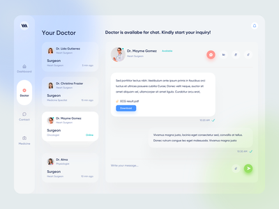 Medical Web App doctor appointment uidesign uxdesign product design clinic hospital patient app patient health care health app health medical medical design medical care medical app web apps web application design web app design web application web app