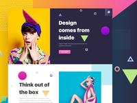 Design - Experimenting Colors