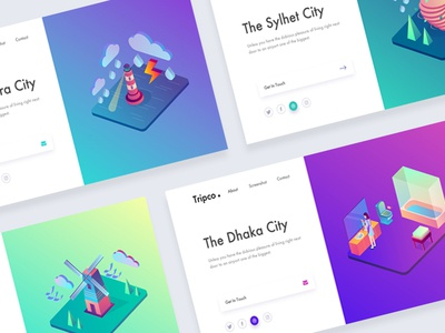 Tripco. Header Exploration