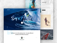 Landing Page - Surfing