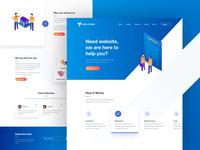 Landing Page - Design