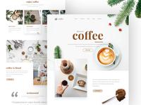 Landing Page - Coffee