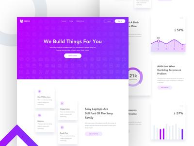 Landing Page - Design Agency