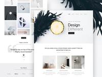Landing Page - Minimal Website