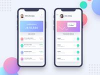 2xbanking app 2nd screen