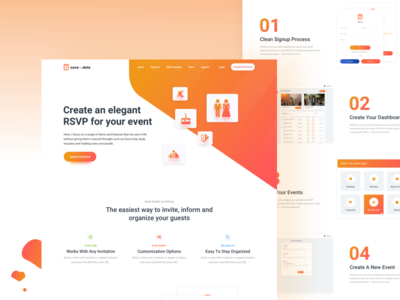 Save For Date - Landing Page