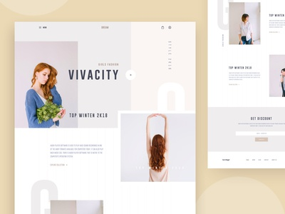 Fashion Ecommerce UI