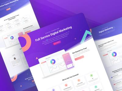 Digital Marketing Agency - Sneak Peek