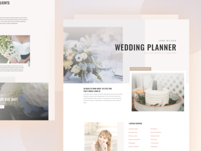 Wedding Planner - Sneak Peek