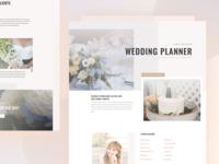 Wedding Planner - Sneak Peek