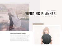 Wedding planner home page