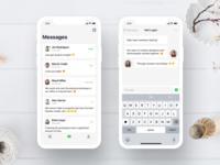 Messaging App UI Exploration