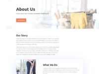 Cleaning company about page