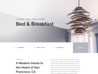 Bed and breakfast home page