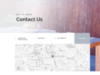 Bed and breakfast contact page