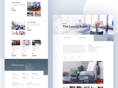 Bed and Breakfast Template Design for Divi wordpress website template minimal layout house hotel food divi bed and breakfast