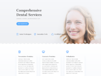 Dentist services page
