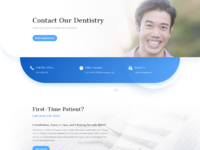 Dentist contact page