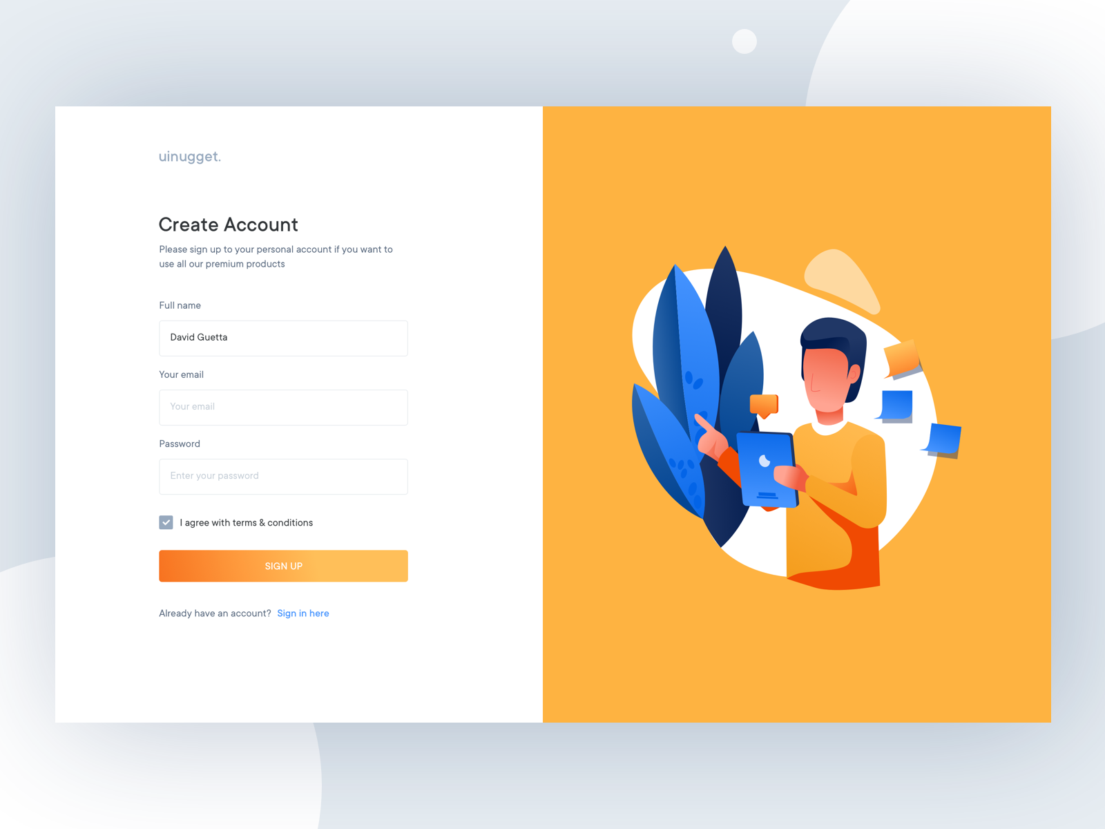 Finance Web Application layout branding clean gradient webapplication application typography illustration minimal ux ui bank account cryptocurrency chart signup graph financial finance dashboard bank