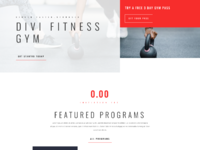 Gym home page