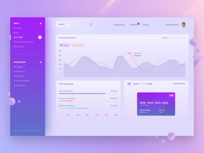 Futuristic Web Application