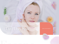 Say spa landing page